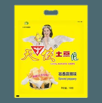 天使 土豆片 椒香麻辣味 108g