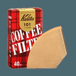 Kalita||101未漂白滤纸||40张