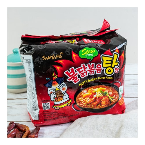 SAMYANG Korean Hot Chicken Ramen Stew Type 5bags 725g