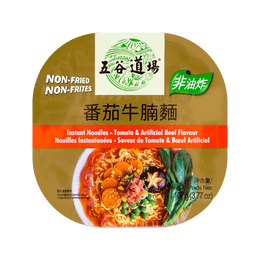 WUGUDAOCHANG Instant Noodles-Tomato & Artificial Beef Flavour (Box) 107g