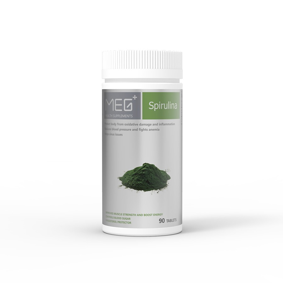 Yamibuy.com:Customer reviews:MEG+ Spirulina 90 Tablets