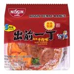 NISSIN Demae Ramen Beef Flavor 500g