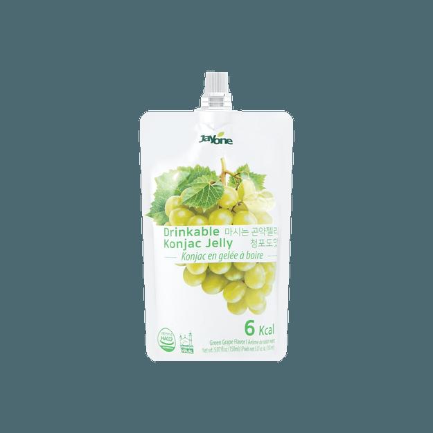 商品详情 - 韩国JAYONE JELLY.B 低糖低卡蒟蒻果冻 葡萄味 150ml 多种版本随机发货 - image  0