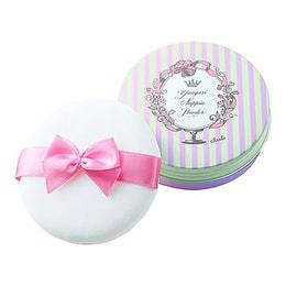 日本CLUB 出浴素颜美白保湿护肤粉饼 白色花香 26g COSME大赏受赏