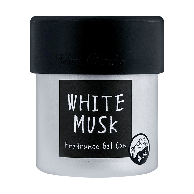 Product Detail - Japan  Fragrance Gel Can for Room and Car 85g #White Musk 1pc - image  0