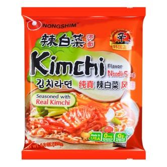 韩国NONGSHIM农心  韩式辣白菜汤面 120g