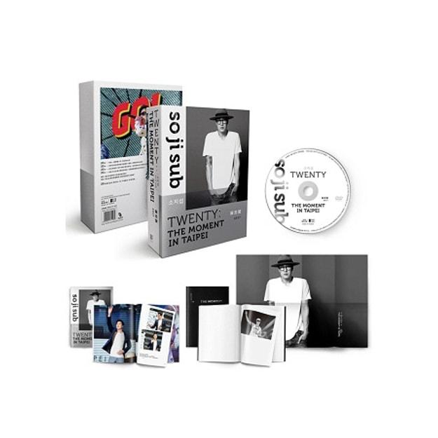 Product Detail - 【繁體】蘇志燮TWENTY:出道20年台灣專場粉絲會DVD+寫真冊+時光筆記本+海報 全球獨占限量 - image 0