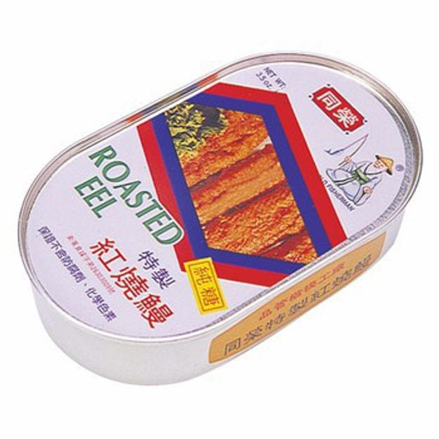 商品详情 - 台湾同荣 特制红烧鳗罐头 100g - image  0