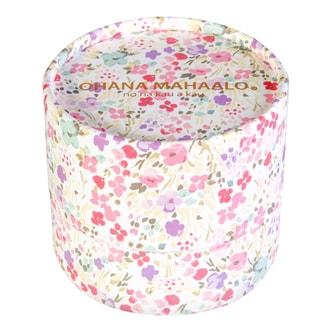 日本OHANA MAHAALO 珠光蜜粉粉扑香水 #幸福花雨 11g