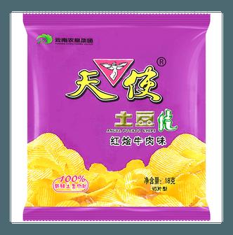 天使 土豆片 红烩牛肉味 18g