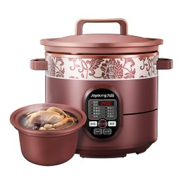 【Pre-order-Ship in Early December】【Hot】JOYOUNG Multi-Function Purple Clay Pot Slow Cooker 5L JYZS-K523M