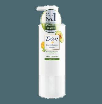 日本版DOVE多芬 植萃防断发修护损伤洗发水 海洋气息花果香 500g