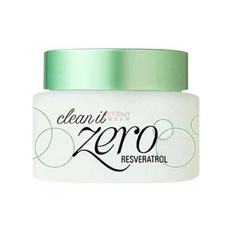 韩国BANILA CO. ZERO芭妮兰绿色抗氧化保湿滋润卸妆膏 100ml