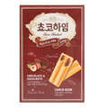 韩国CROWN 榛子巧克力威化饼干 47g