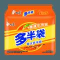 白象 多半袋 香辣牛肉面 五连包 138g*5
