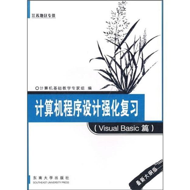 商品详情 - 计算机程序设计强化复习(VisualBasic篇)(最新大纲版) - image  0