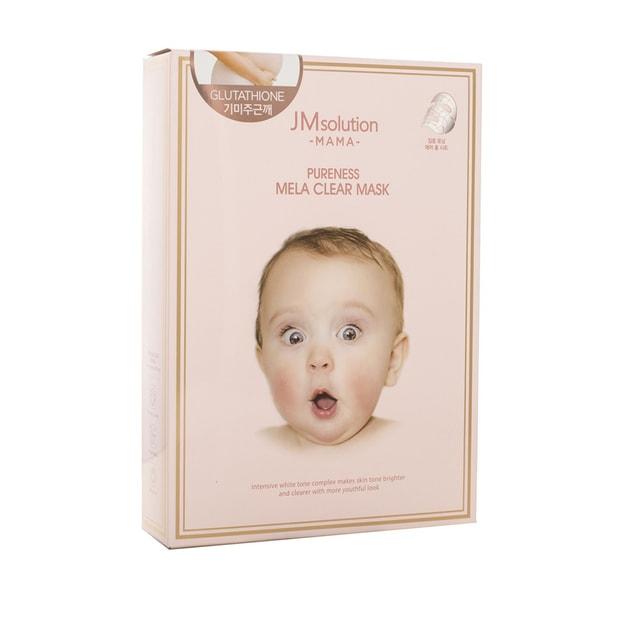 商品详情 - 韩国 JM SOLUTION 粉色系列 淡斑 淡化黑色素 面膜 孕妇可用 10片入 - image  0
