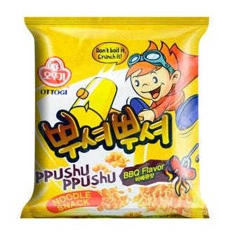 韩国OTTOGI不倒翁 PPUSHU PPUSHU干脆面 韩式烧烤味 90g