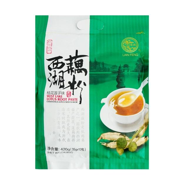 Product Detail - LIANFENG West Lake Lotus Root Paste Osmanthus Lotus Seed Flavor 420g - image 0