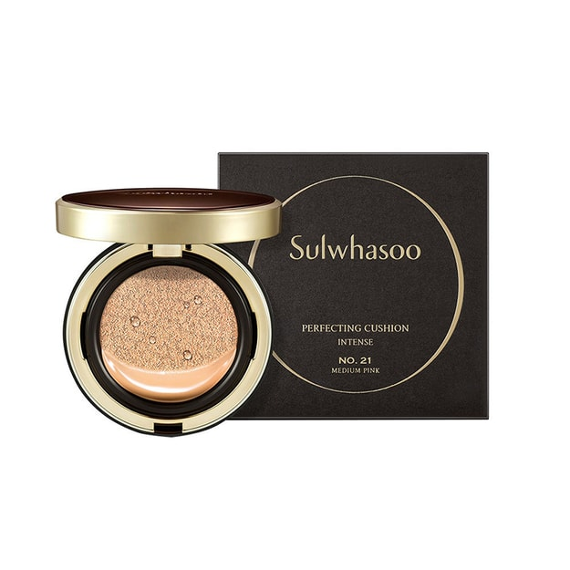 Product Detail - SULWHASOO Perfecting Cushion Intense #13 Light Pink SPF50+ PA+++ 15g*2 - image 0
