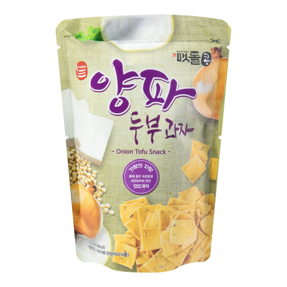 Yamibuy.com:Customer reviews:Onion & Tofu Snack 120g