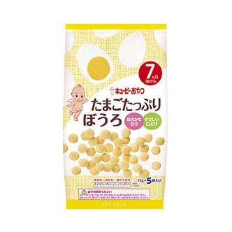 KEWPIE Baked Starch Cracker Eggs 60g 7M+