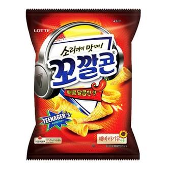 韩国LOTTE乐天 妙脆角 甜辣味 大包装 144g