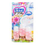 KOBAYASHI Bathroom Toilet Bowl Cleaner Deodorizer #Elegant Flower 3pc