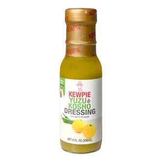日本KEWPIE丘比 沙拉汁 柚子胡椒口味 236ml
