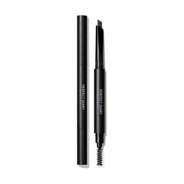 PERFECT DIARY Dual Tip Hexagonal Eyebrow Pencil 02 Dark Brown