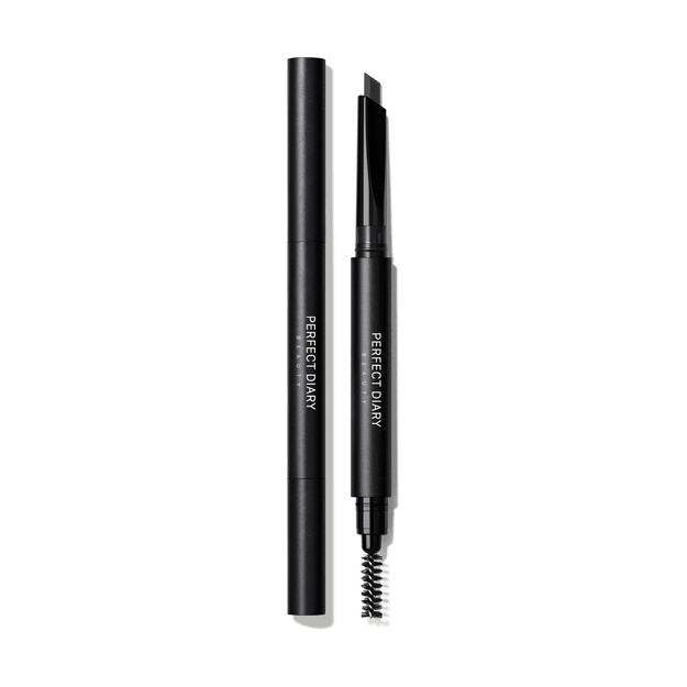 Product Detail - PERFECT DIARY Dual Tip Hexagonal Eyebrow Pencil 02 Dark Brown - image 0