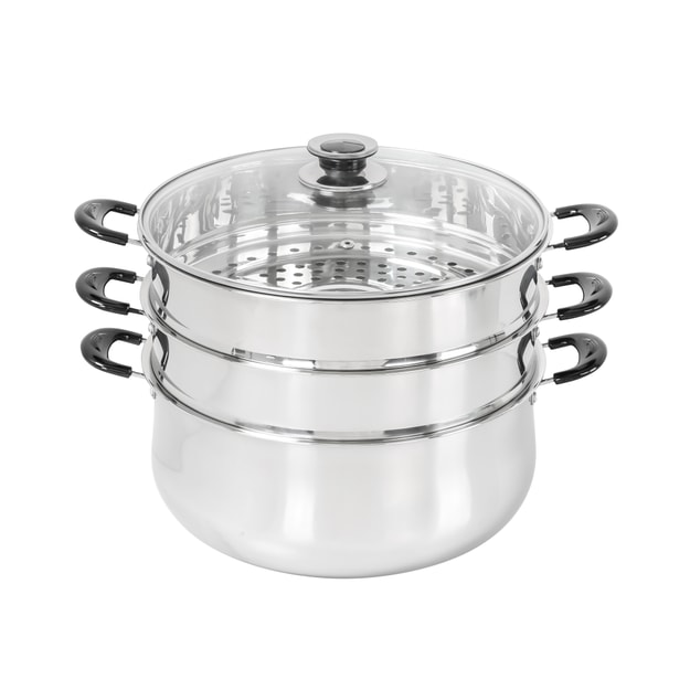 Product Detail - CONCORD 3 Tier Stainless Steel Steamer 30cm - image  0