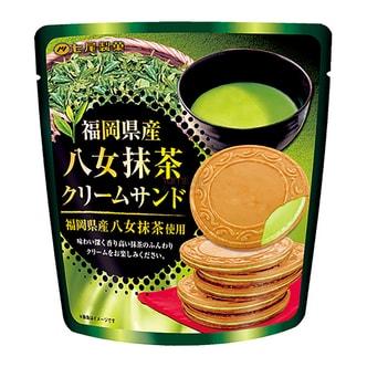 日本七尾製菓 八女抹茶夹心饼 66g
