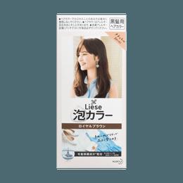 日本KAO花王 LIESE PRETTIA 泡沫染发剂 #栗子棕色 单组入