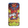 [中国直邮]  乐学办公  LEARN&WORK创意卡通财神爷 硅胶全包苹果手机壳 款式 恭喜发财 适用于iPhoneX 中国直邮