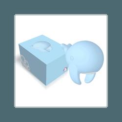 YY Horse 超可爱鲸鱼女性振动器 按摩棒 #蓝色