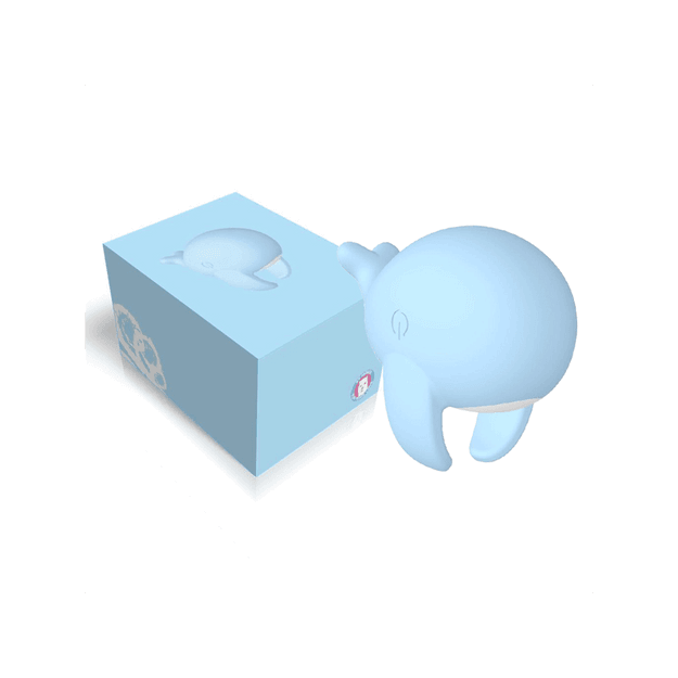 Product Detail - YY Horse Women Cute Whale Vibrator Massager #Blue - image 0