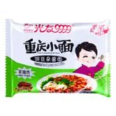 光友 重庆小面 非油炸红薯方便面 豌豆杂酱面 110g
