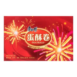 KANGSHIFU Crispy Biscuit Roll (Rich Cream) 384g