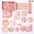 SUGARSHOP Gold-stamped hand-book stickers Sakura blow snow 80g