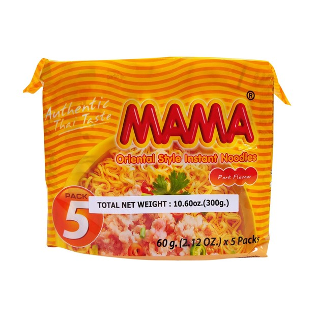 商品详情 - 泰国妈妈碎豬肉拉面  5-ct 300克 - image  0