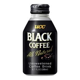 日本UCC 无糖0卡黑咖啡 罐装 288ml