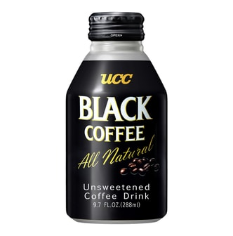 UCC Unsweetened Black Coffee 288ml