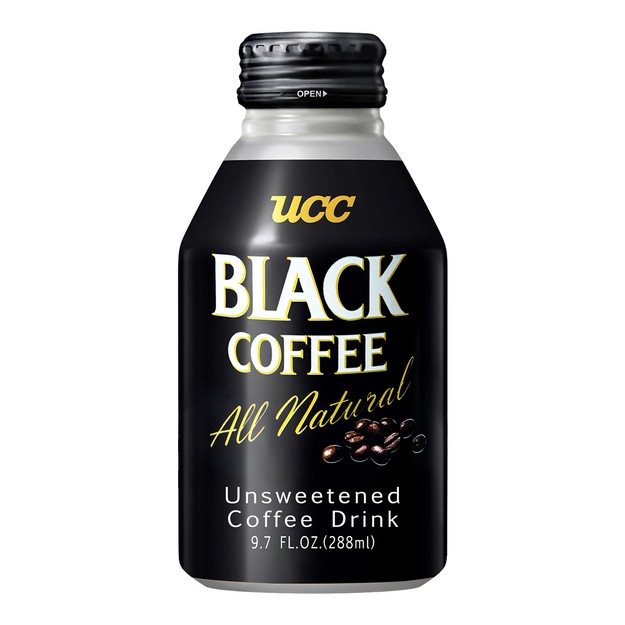 商品详情 - 日本UCC 无糖0卡黑咖啡 罐装 288ml - image  0
