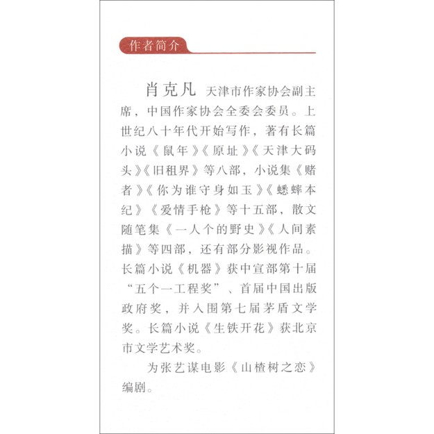商品详情 - 哈尔哈拉河的刀子/中国专业作家小说典藏文库·肖克凡卷 - image  0