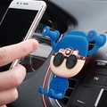 RAMBLE Universal Car Bracket Air Outlet Brackets Support For Iphone 5 5s 6 6s 7 7Plus X Samsung Galaxy Blue 1pc