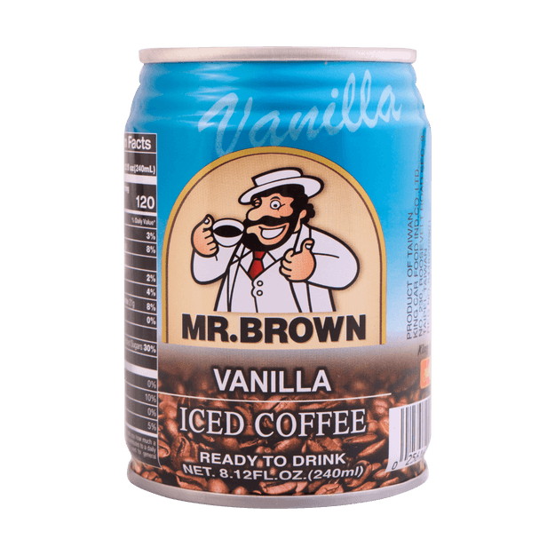 Product Detail - MR BROWN Coffee Vanilla Flavor 240ml - image 0