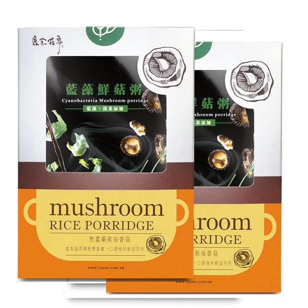 Product Detail - [Taiwan Direct Mail] LUYAOCyanobacteria Mushroom Porridge 2 Cases Combo*Vegan/Specialty* - image 0