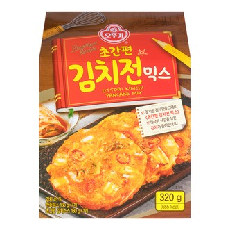 韩国OTTOGI不倒翁 泡菜味混合煎饼粉 320g