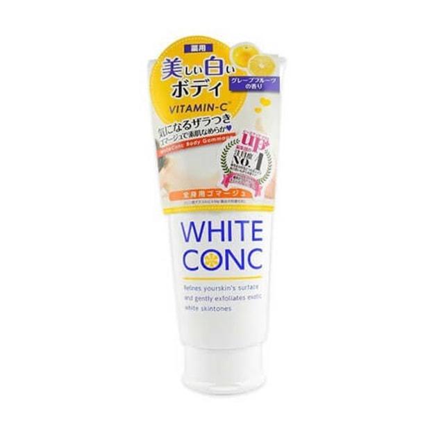商品详情 - 日本 White Conc 维他命C身体美白保湿磨砂膏 180g - image  0